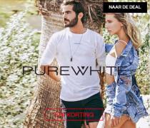 Pure White 70% korting (dames- en herenkleding) @ Maison-lab