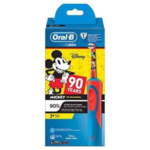 Braun Oral-B Kids Elektrische tandenborstel met Mickey figuren 12,09 @ Amazon.de Prime deals