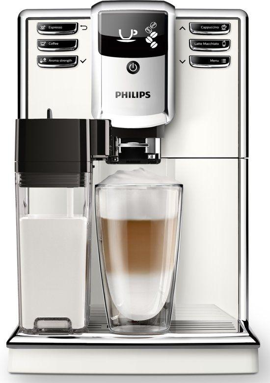 Philips 5000 serie EP5360/10 - Espressomachine - Wit/Zwart @bol.com