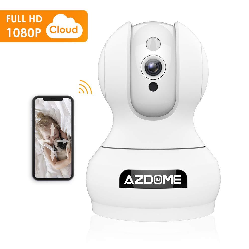 1080P WiFi IP Smart Camera met bewegingsherkenning, audio en nachtzicht voor €14,99 bij Amazon.de