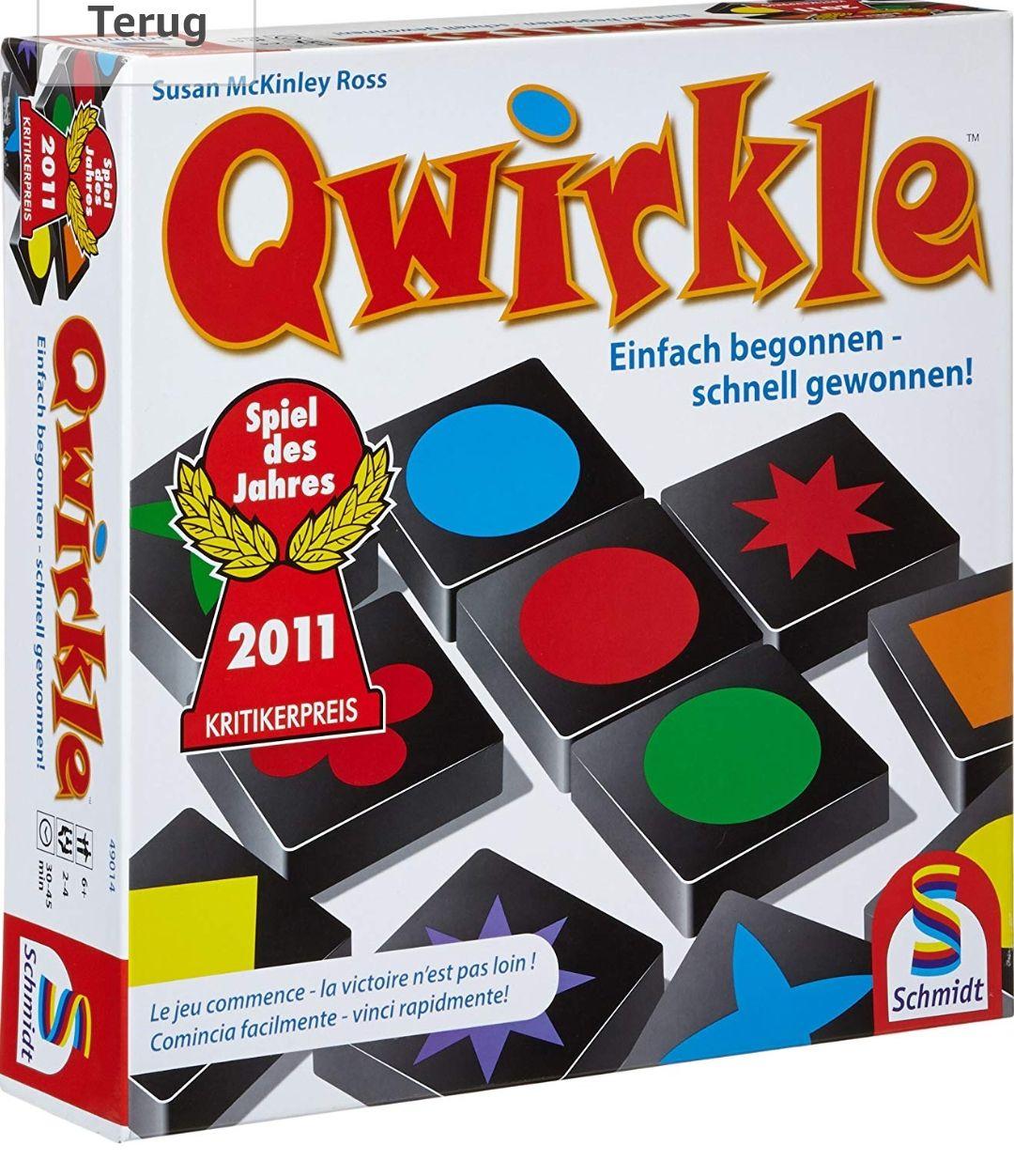 Qwirkle voor €14,99 @ amazon.de (Prime Deal)