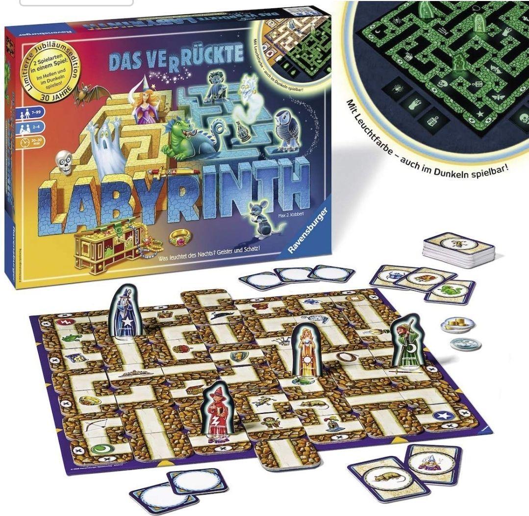 Das verrückte Labyrinth (De betoverde Doolhof - Glow in the Dark Editie) voor €13,99 @ amazon.de (Prime Deal)