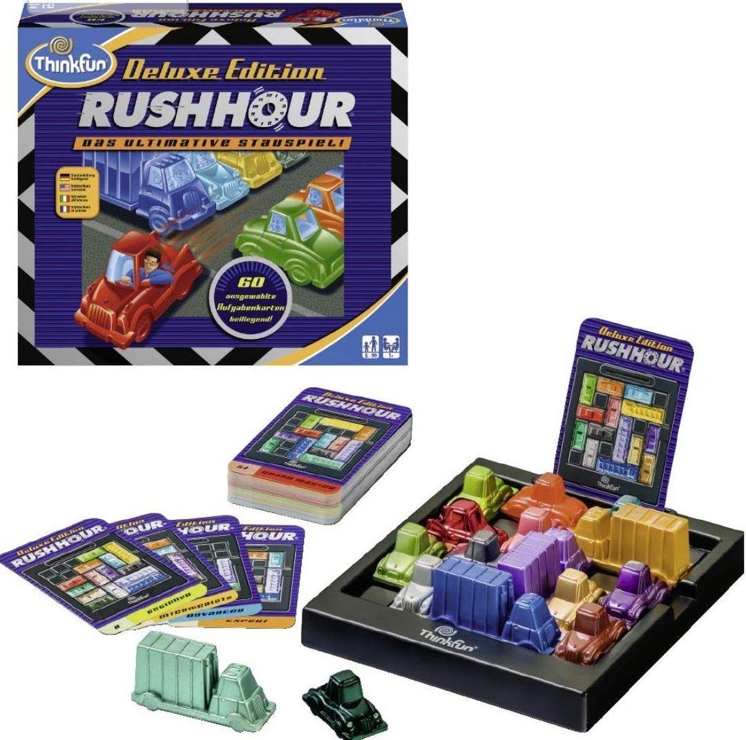 ThinkFun Rush Hour Deluxe voor €13,99 @ amazon.de (Prime Deal)