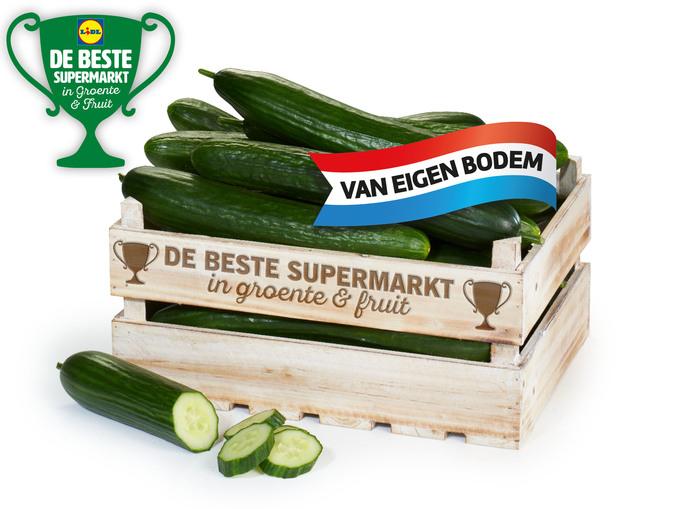 Komkommers 3 voor 1 euro!