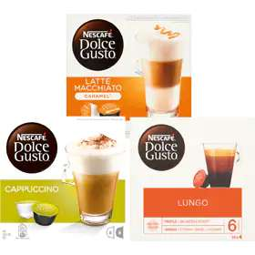 3 doosjes Nescafé Dolce Gusto voor €10 @Jumbo