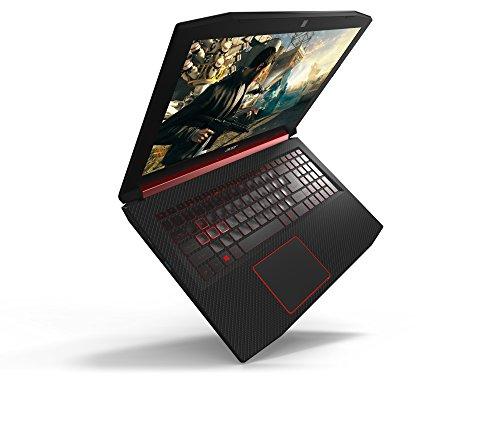 Acer Nitro 5 15,6 Zoll Intel Core i5-8300H, 8GB RAM, 512GB PCIe SSD, NVIDIA GeForce GTX 1060, Win 10 Home schwarz/rot