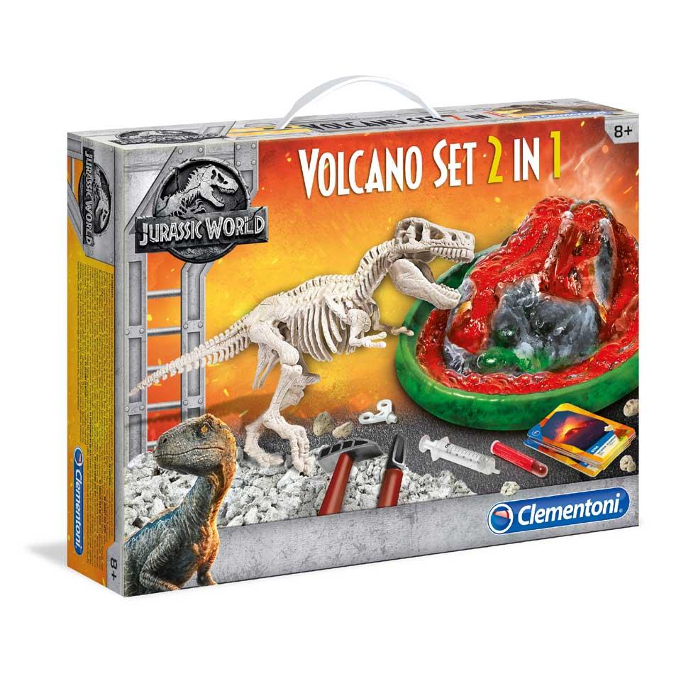Jurassic World vulkaan + T-rex | 2 voor 16,97, p.s. 29,95