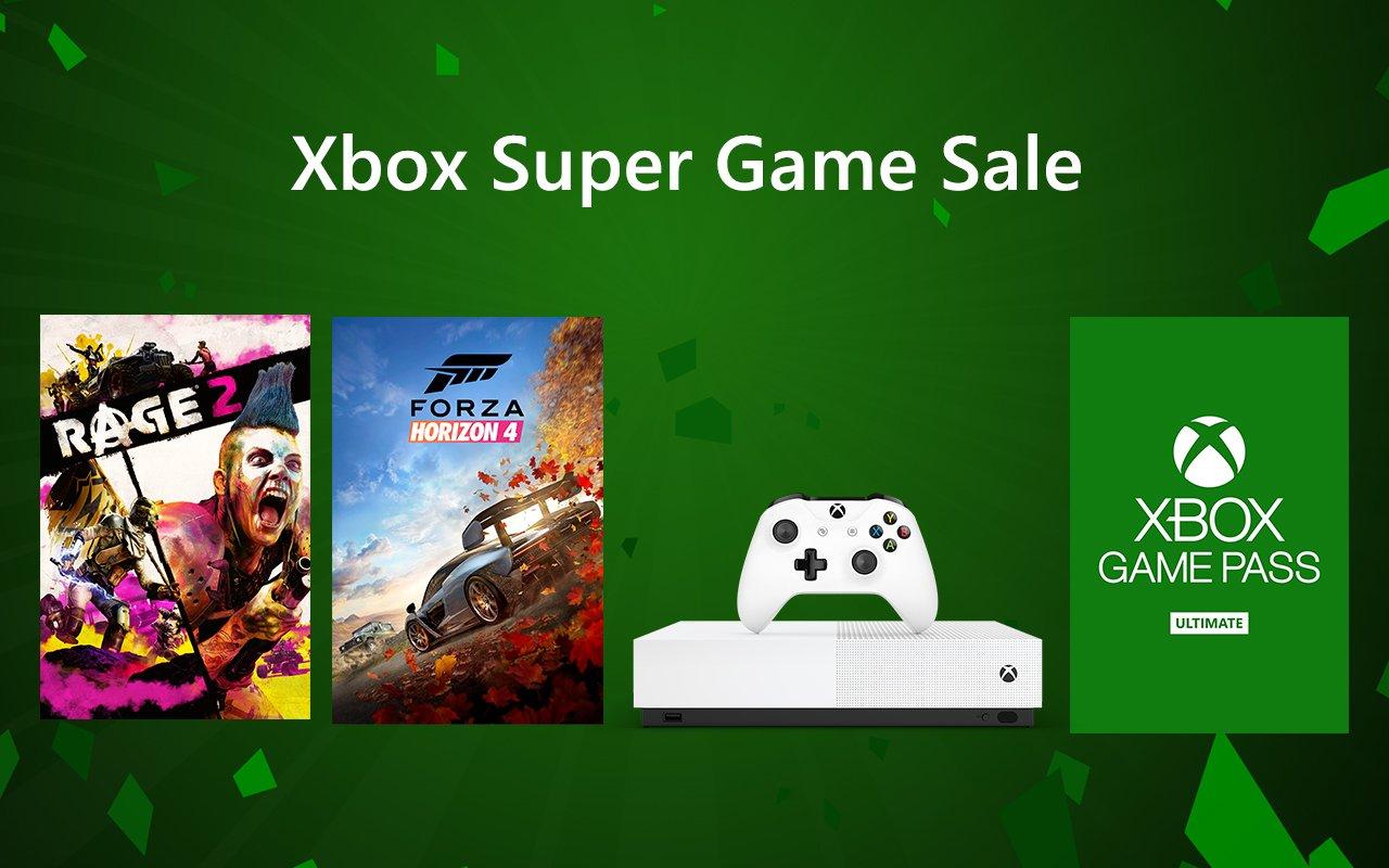 Xbox super game-uitverkoop tot en met 29 juli 2019