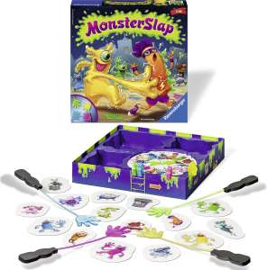 Monster Slap spel (met plakhanden)