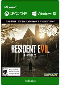 Resident Evil 7: Biohazard (Xbox Play Anywhere) @ Xbox Store US