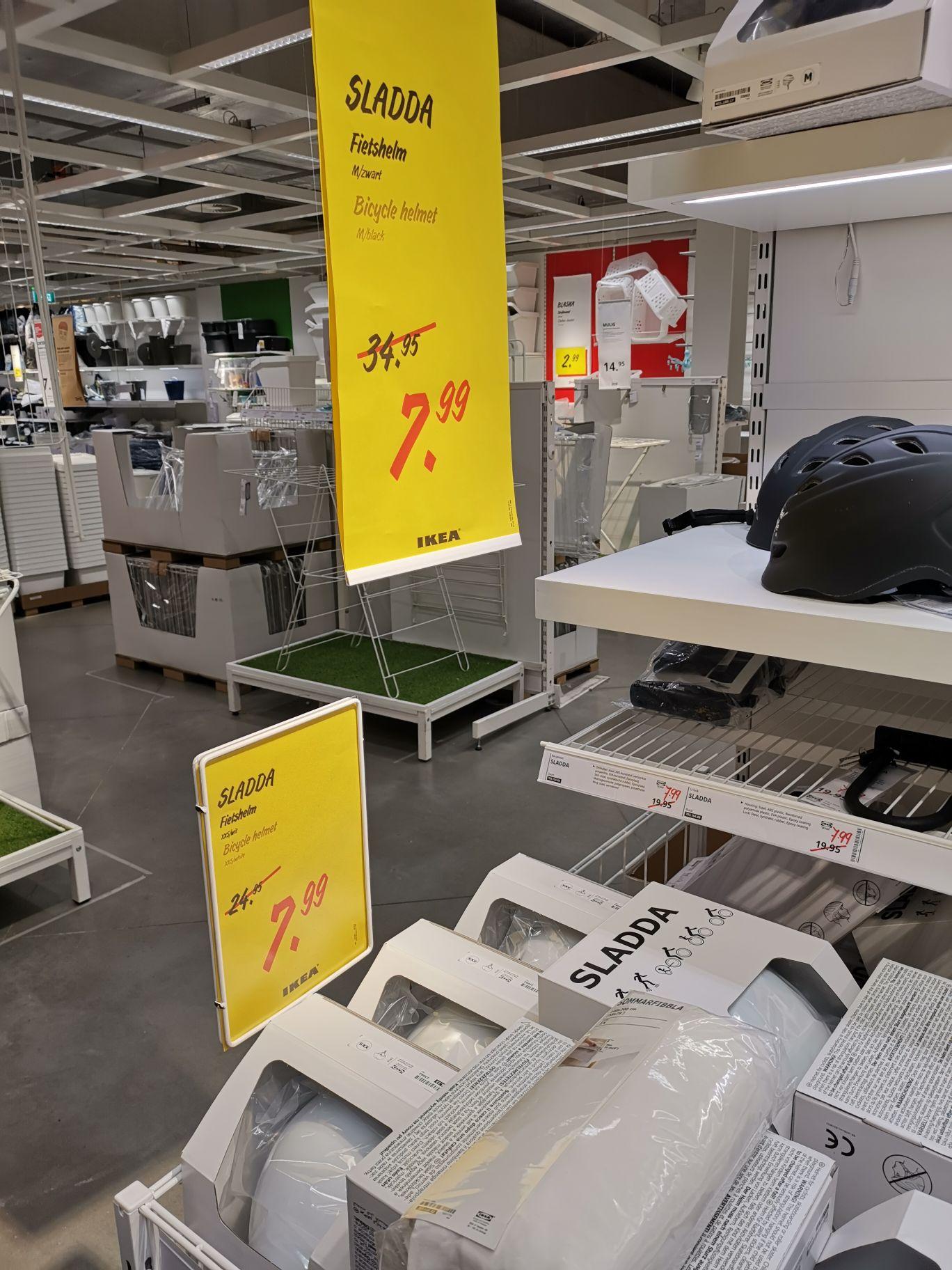 IKEA Fietshelm SLADDA