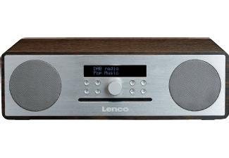 Lenco DAR-070 - DAB+ Radio met cd-speler, Bluetooth en USB @ Media Markt