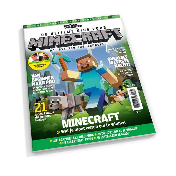 50% korting op Minecraft Magazine - Nu voor €5 @ Reshift