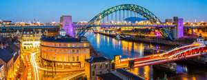 Minicruise Newcastle 1+1 gratis!