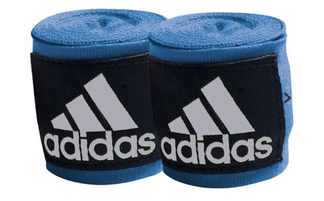 Adidas bandages (kindermaat) 2.55m blauw @ Bol.com