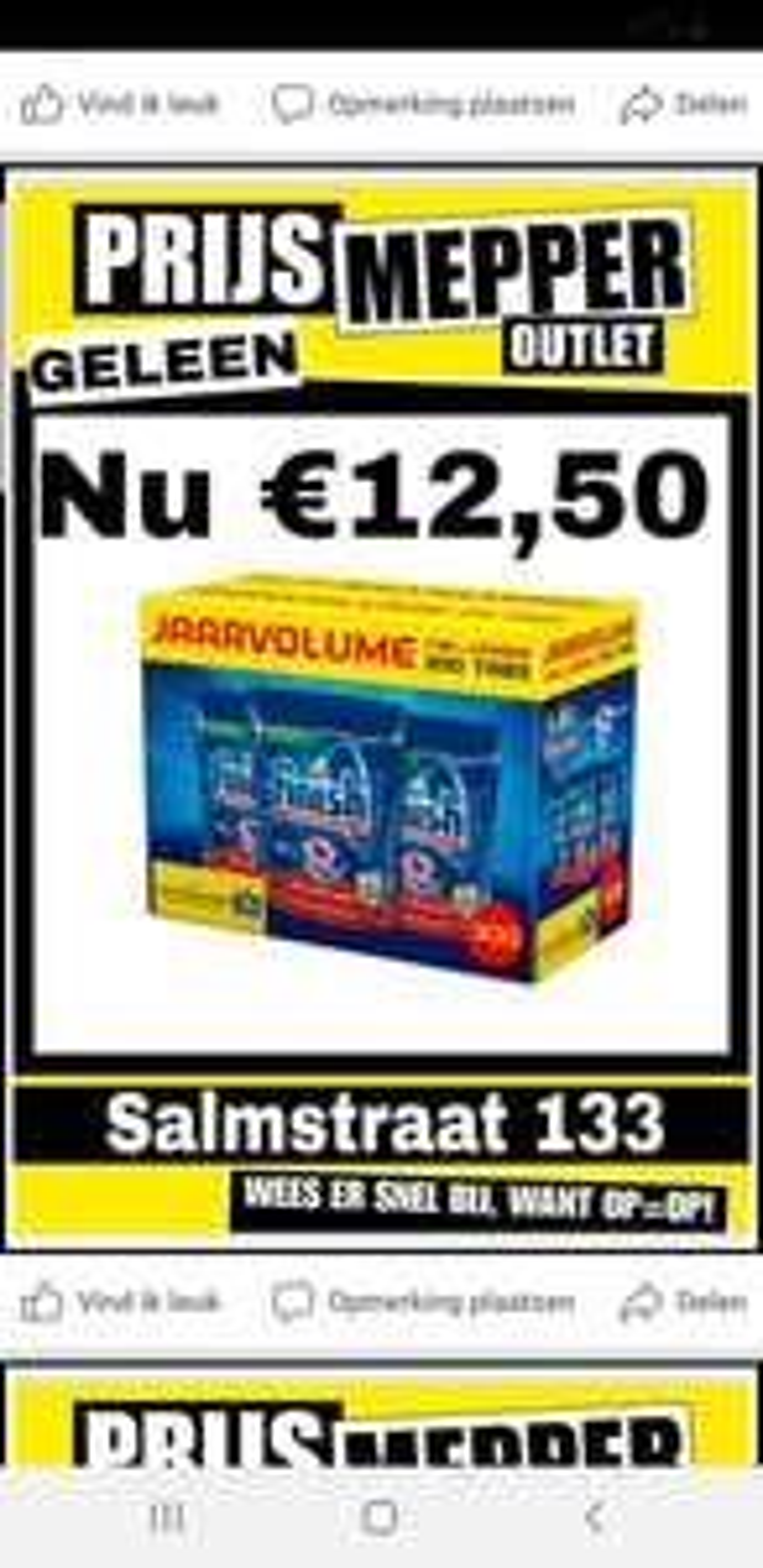 [Geleen] 300 Finish vaatwas tabletten voor €12,50