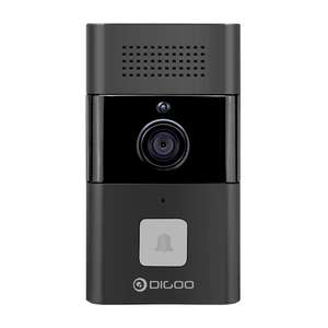 DIGOO DG-XYB 720P HD WIFI Wireless Smart Video Doorbell Two-way Audio Message Function Smart Home Security Monitor - Black