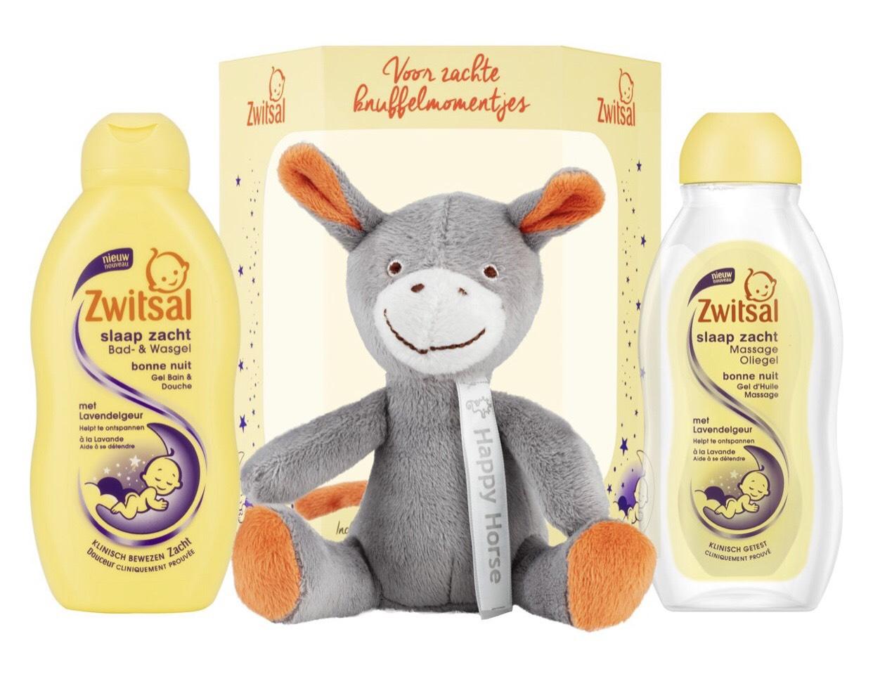 Zwitsal Happy Horse 3 delig cadeaupakket @ Bol.com