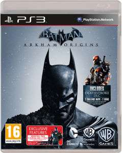 Batman: Arkham Origins (PS3) voor € 16,49 @ Zavvi