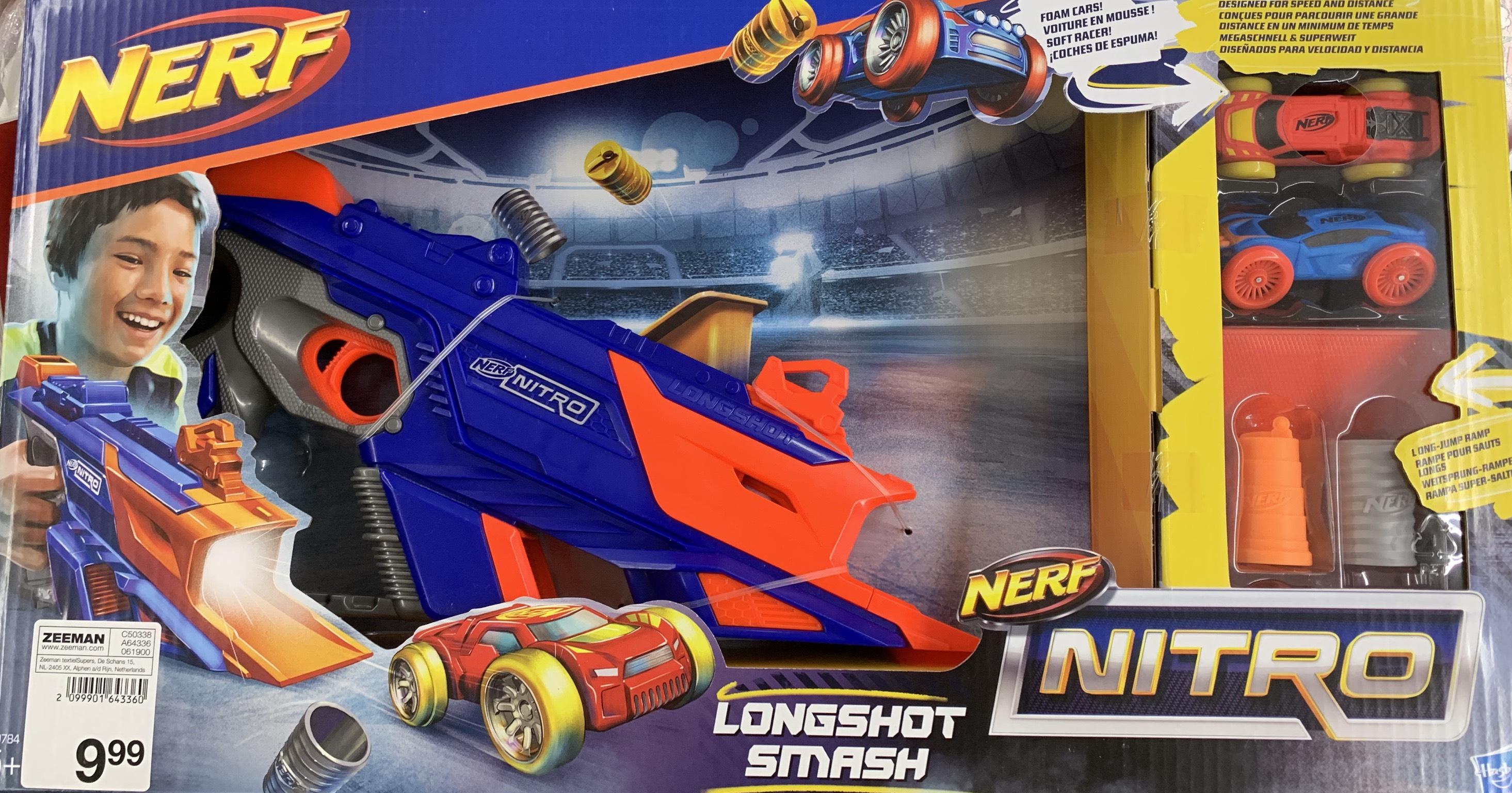 Nerf LongShot Smash [Zeeman]