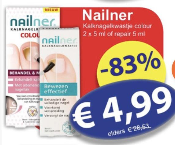 Nailner kalknagelkwastje (2 varianten) €4,99 @dieGrenze