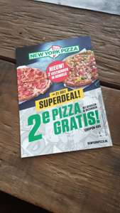 2e pizza gratis new york pizza @Hengelo Ov
