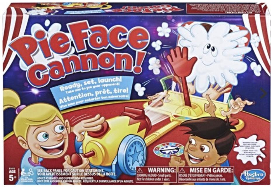 Pie Face Kannon spel @ Bol.com