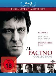 Al Pacino collection Blu-ray @Amazon.de