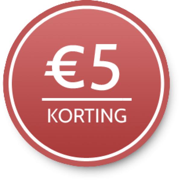 5 euro korting bij besteding van min. 25 euro bij amazon.it