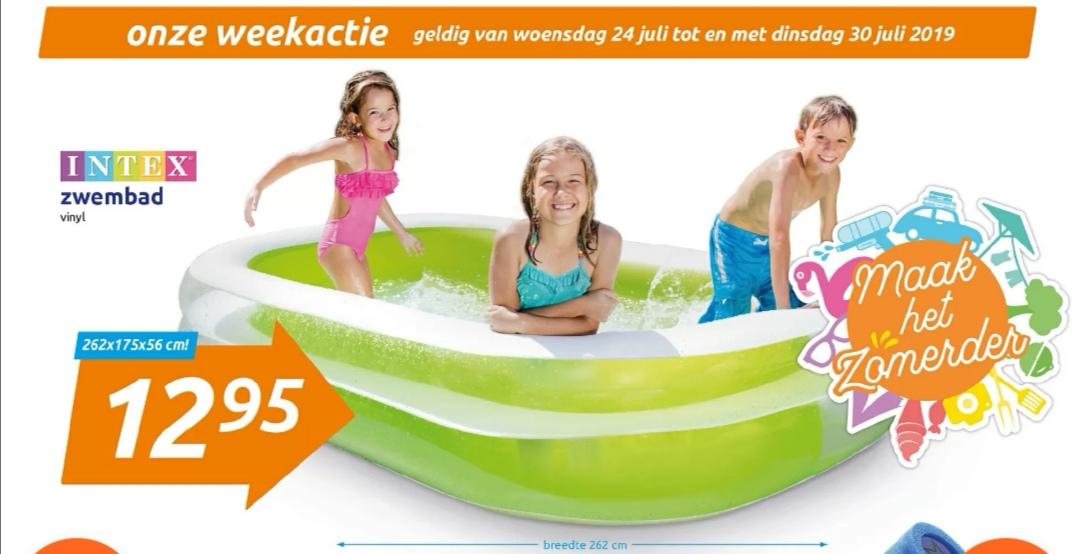 Intex Family Pool 262x175x56 @ Action