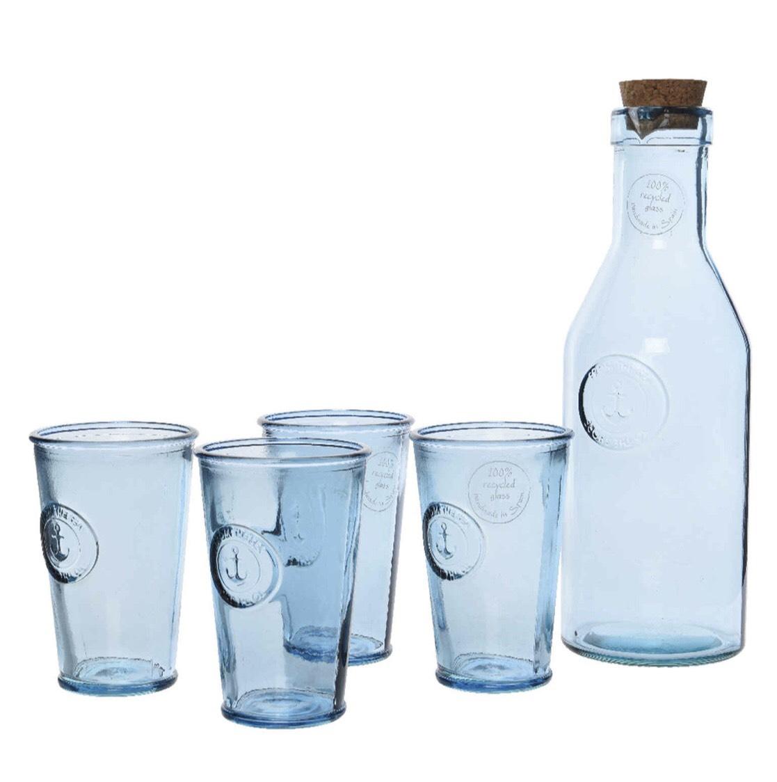 4-delige glazenset met karaf -70% korting @ Hudson's Bay