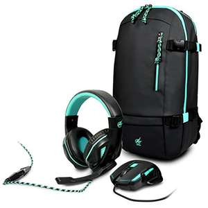 Port Designs Arokh Gaming Pack (rugtas, muis en headset) @ Amazon.de