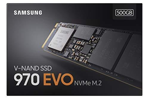 Samsung 970 EVO 500GB SSD (MZ-V7E500BW)