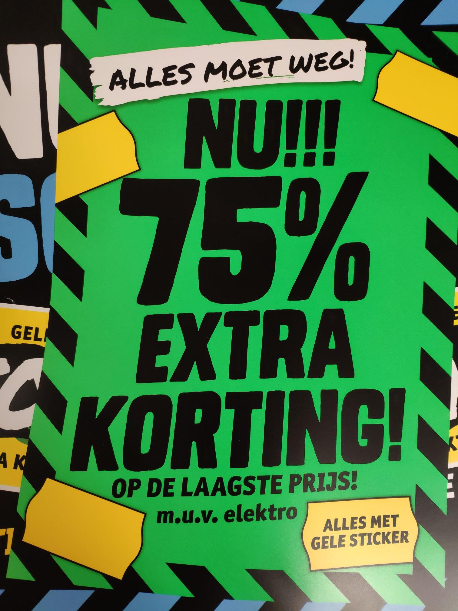 [Grensdeal België] Alles 75% korting in sale (muv electro), vanaf 29 juli