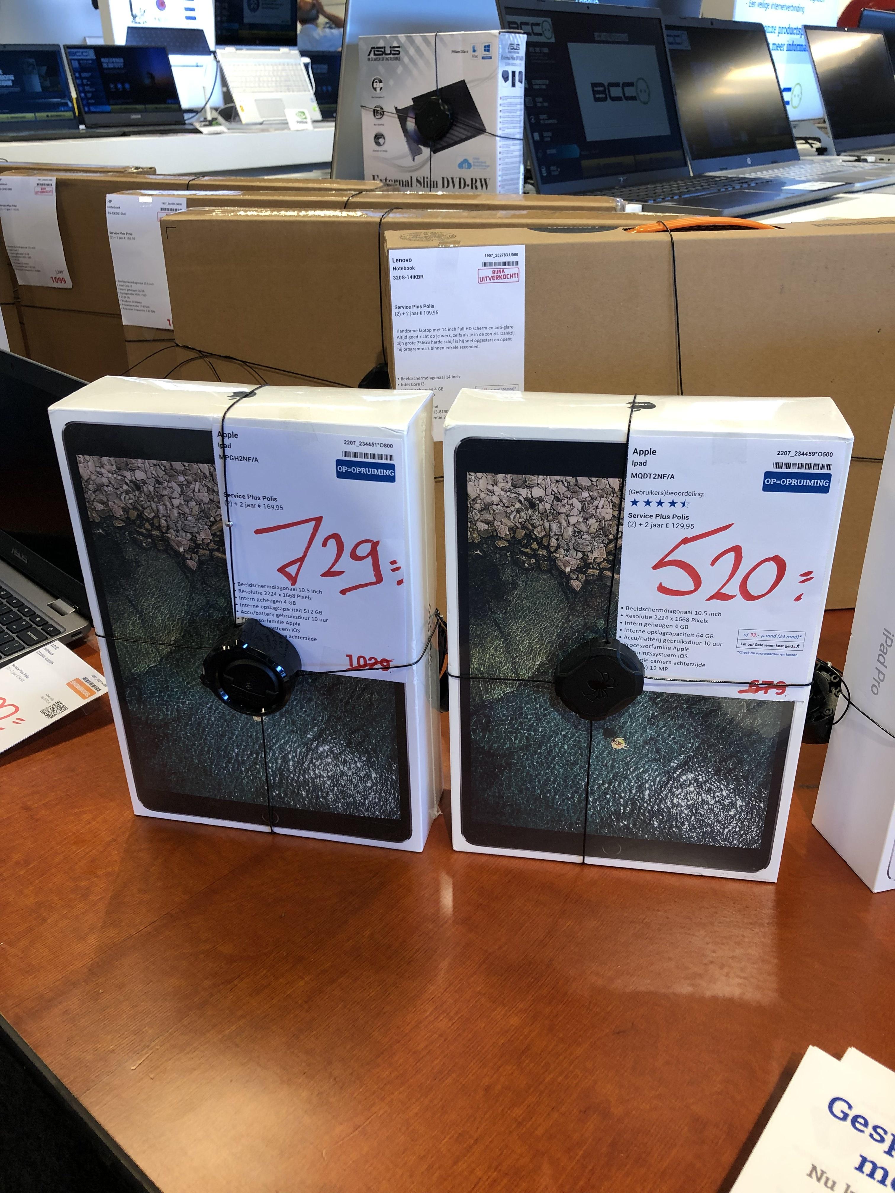 Lokaal flink afgeprijsde Apple iPad pro's! Bcc den Bosch