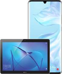 Huawei P30 Pro 128GB + Huawei MediaPad T3 10 WiFi 16GB voor €596,70 met klantvoordeel na cashback i.c.m. 1-jarig T-Mobile-abo bij MediaMarkt