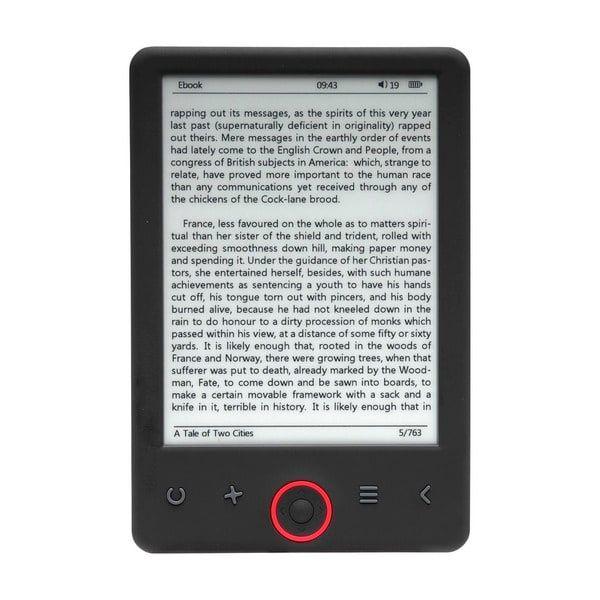 [Grensdeal België] E-reader Denver EBO-620 ALLEEN VANAVOND 29€! @Kruidvat
