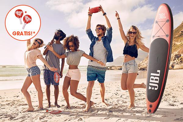 Gratis strand racketsetje bij een besteding van €99 of meer @ JBL
