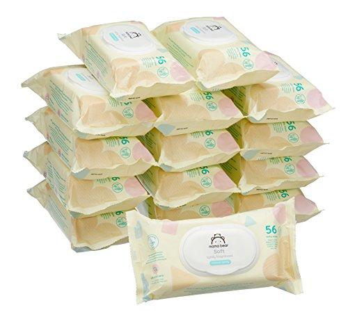 Mama Bear soft babydoekjes-15 pakjes voor 5,93 @Amazon Prime