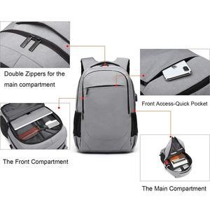 Zakelijke laptop tas (waterproof), 15.6 inch Urban Grey/ Black 45% korting
