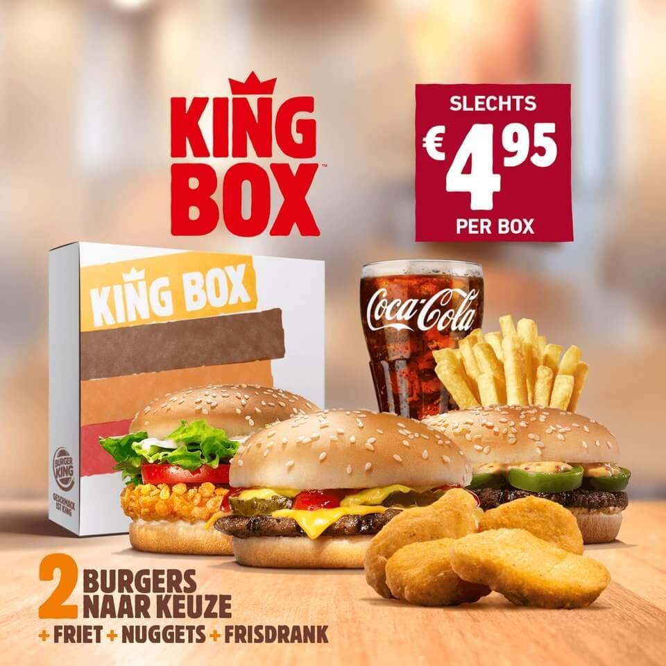 De vernieuwde King Box voor €4,95!