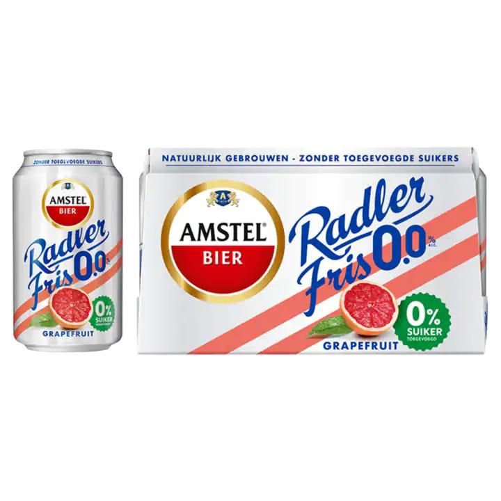 (Gratis) 6-pack Amstel Radler Grapefruit 0,0% t.w.v. €4,69 @DekaMarkt
