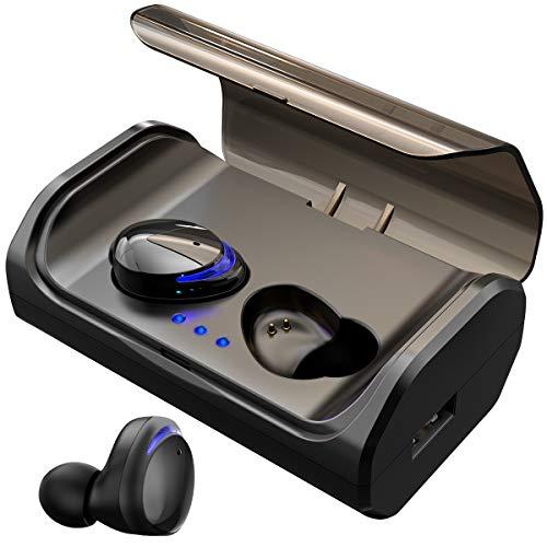 HolyHigh Bluetooth-koptelefoon, draadloos, sport, hardlopen, bluetooth 5.0 met 3000mAh-batterij  27,99 euro.