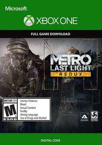 Metro: Last Light Redux / Metro 2033: Redux (Xbox One download)
