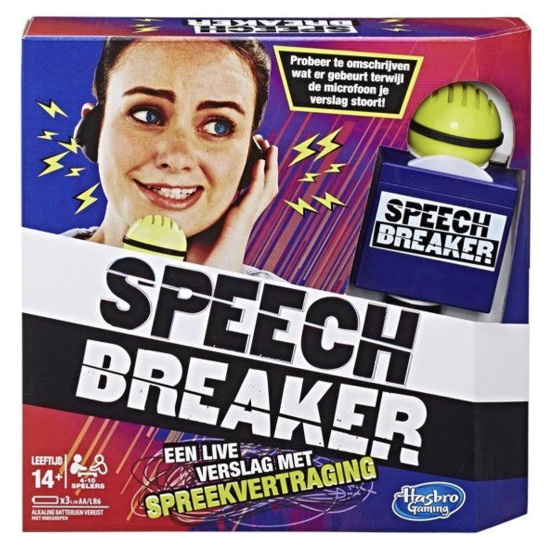 Speech Breaker spel @ Bol.com
