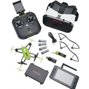 "Drone race set , Rise - VusionHouseracer- FTP Drone + camera + 4,3""LCD scherm + 6 kanaals controller + Goggle"
