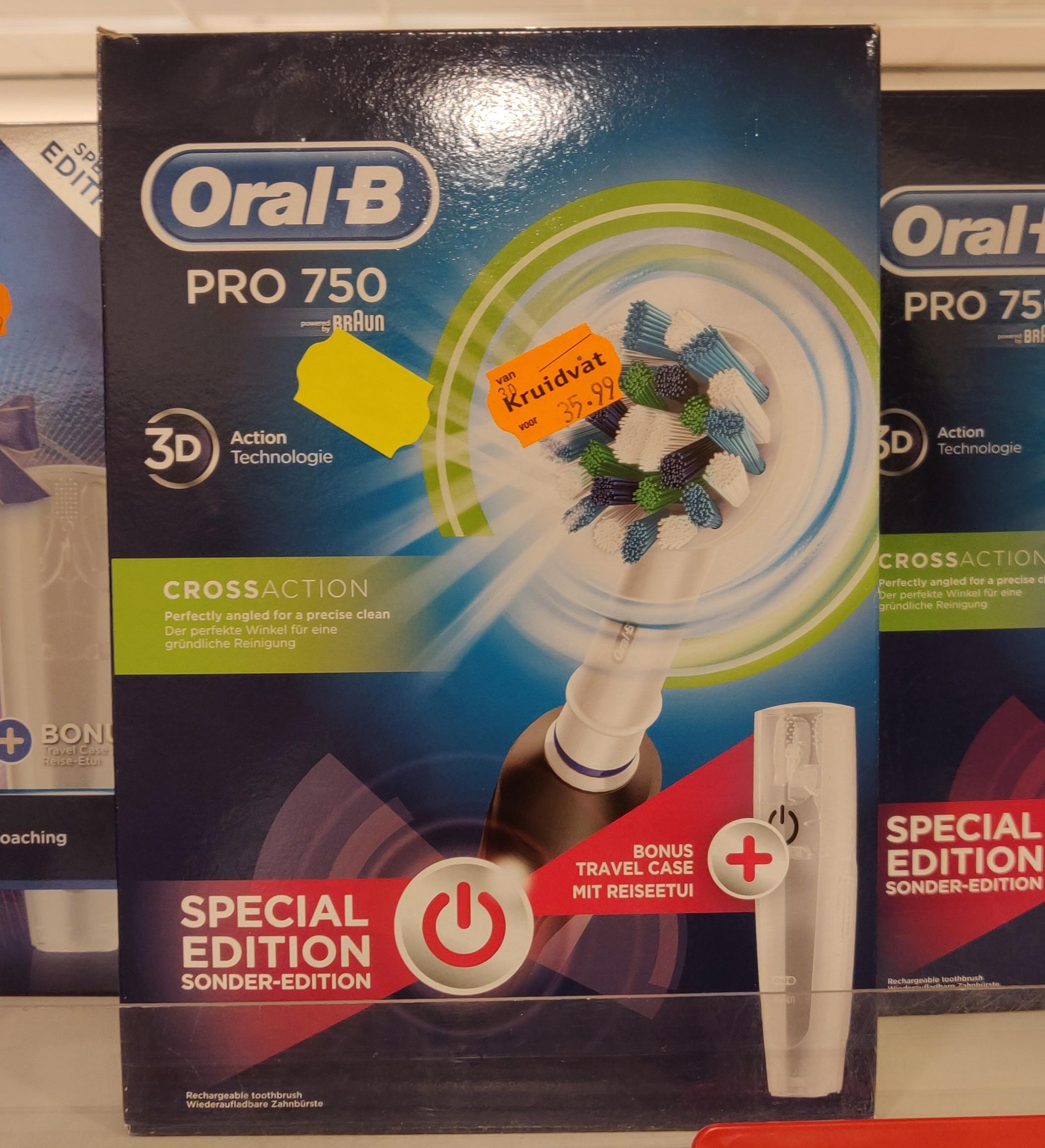 [lokaal] Oral-B pro 750 voor €17,99 en 4500s voor €44,99 @Kruidvat