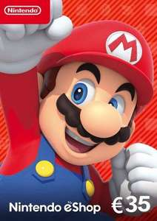 Nintendo eShop Card €35 (digitale code) @ CDkeys