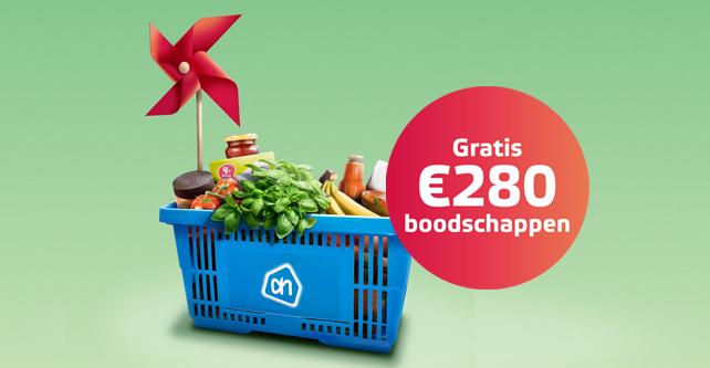 280 euro aan gratis boodschappen met Albert Heijn Cadeaukaarten bij een 1 jarig stroom en gas contract van Eneco!