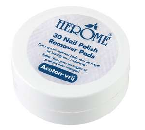 Herôme Caring Nail Polish Remover Pads